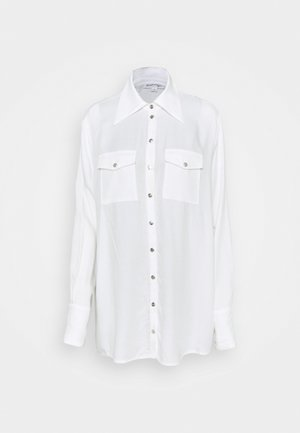 OVERSIZED SHIRT - Button-down blouse - off-white