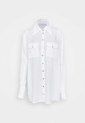 OVERSIZED SHIRT - Camisa - off-white