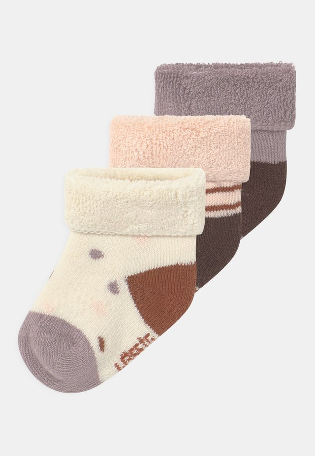 NEWBORN 3 PACK - Chaussettes - lilac