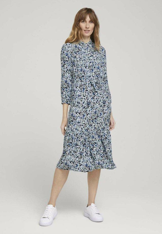Sukienka koszulowa - teal