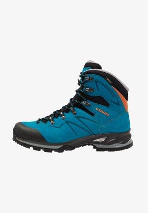 BADIA GTX - Hiking shoes - türkis/mandarine