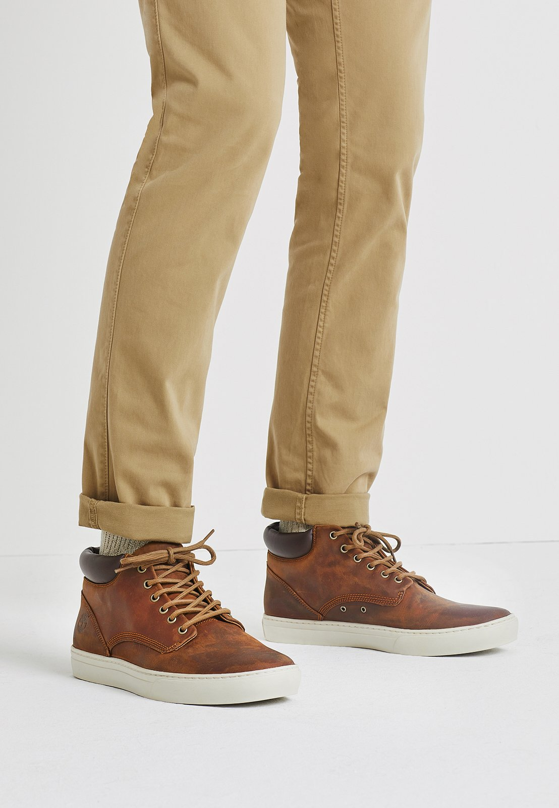 Abuso Pera Estricto  Timberland ADVENTURE 2.0 CUPSOLE - High-top trainers - glazed ginger/light  brown - Zalando.co.uk