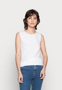 Anna Field - 3 PACK - Top - black/white/khaki - 5