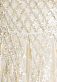 Needle & Thread - SEQUIN GINGHAM ANKLE GOWN - Společenské šaty - champagne/blue - 7