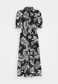 WELLINGTON ELBOW SLEEVE DAY DRESS - Maxi dress - black/colonial cream