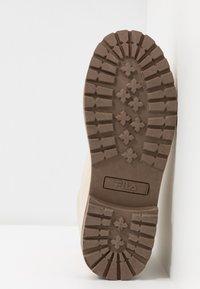 Fila - MAVERICK - Lace-up ankle boots - oyster grey - 6