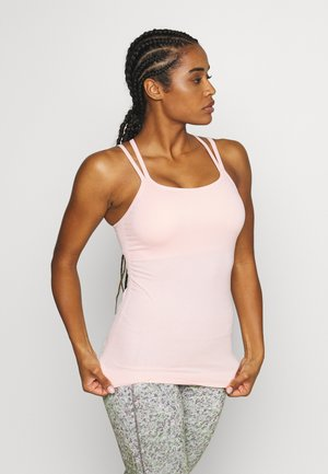 NAMASKA SEAMLESS PADDED YOGA - Topper - liberated pink