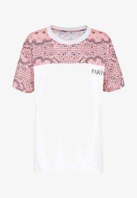 River Island - T-shirt z nadrukiem - white - 3