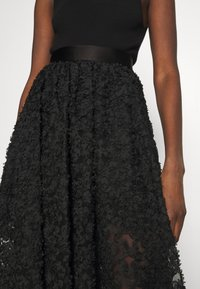 Custommade - ROBINA - A-line skirt - anthracite black - 3