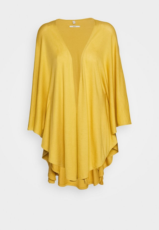 SOLID PONCH - Cape - yellow