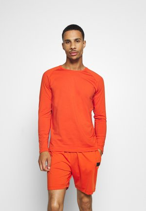 Langarmshirt - intense orange