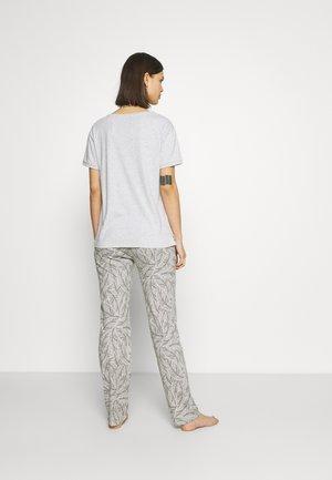 Pyjamas - medium grey melange