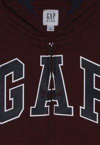 GAP - BOYS  - Sweatjacke - red delicious - 4