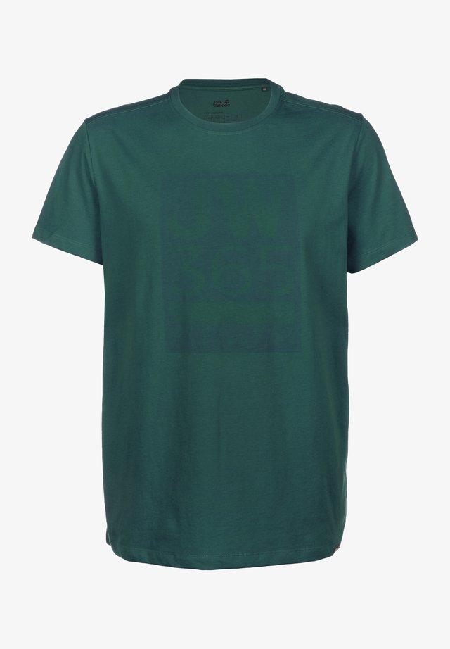 365 T M - T-shirt print - dark spruce