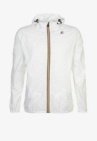 K-Way - CLAUDE 3.0 UNISEX  - Summer jacket - white - 6
