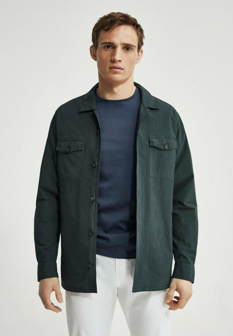 Massimo Dutti - Shirt - green