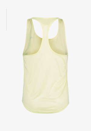 MESH BACK TANK TOP - Sports shirt - yellow