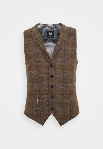 PETTIS WAISTCOAT - Waistcoat - brown