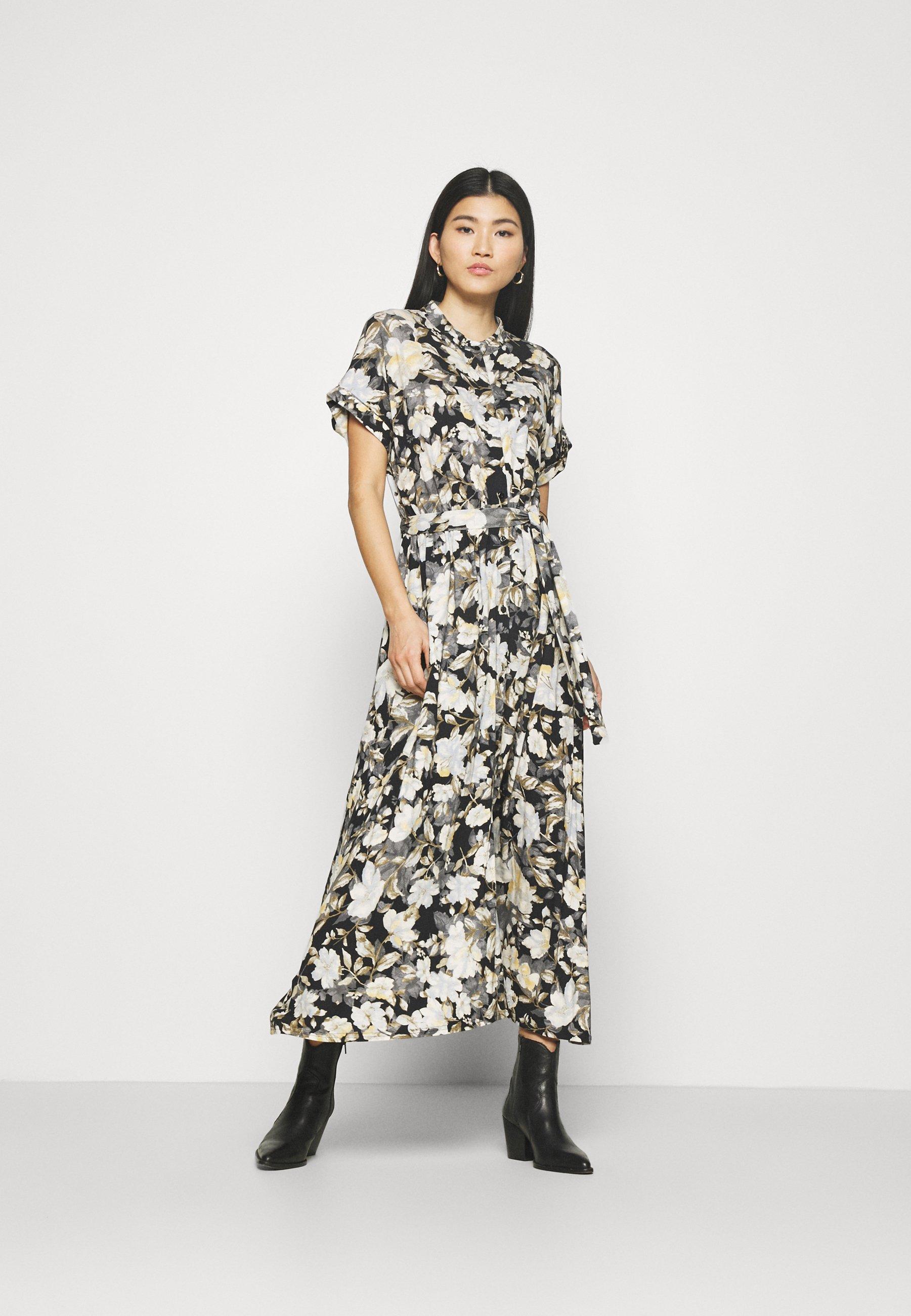 Women BUTTON - Jersey dress