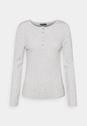 SCOOP HENLEY - Long sleeved top - grey