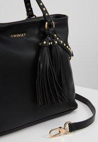 TWINSET - STUDDED STRING - Handbag - nero - 6