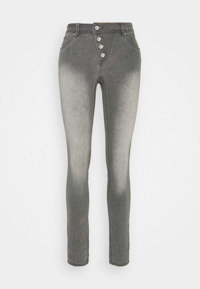 Buena Vista - MALIBU - Slim fit jeans - 4221-grey denim