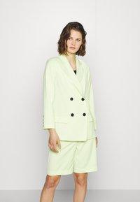 Who What Wear - Blazer - lime - 0