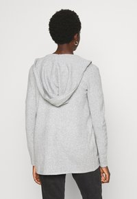 Vero Moda - VMDOFFY OPEN - Cardigan - light grey melange