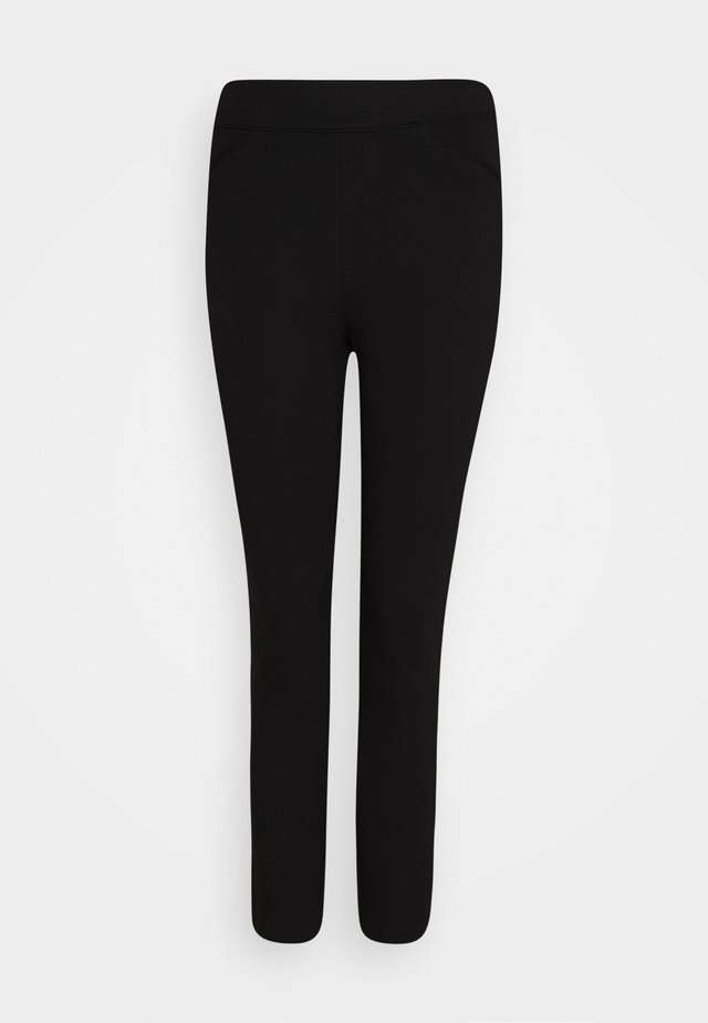 PERFECT PANT BACKSEAM SKINNY - Leggings - classic black