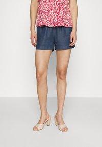ONLY - ONLPEMA LIFE - Shorts - dark blue denim - 0