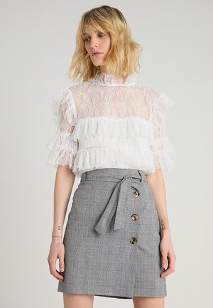 RACHEL BLOUSE - Bluse - white