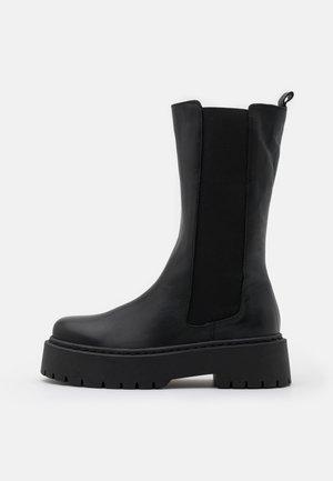 BIADEB - Platform boots - black