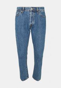 JJICHRIS JJORIGINAL - Straight leg jeans - blue denim