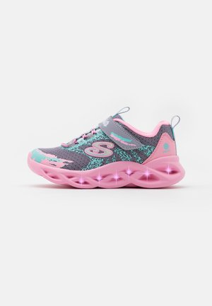 TWISTY BRIGHTS - Sneakers laag - gray/pink