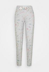 DEAL CUFF PANT - Pyjama bottoms - grey mix