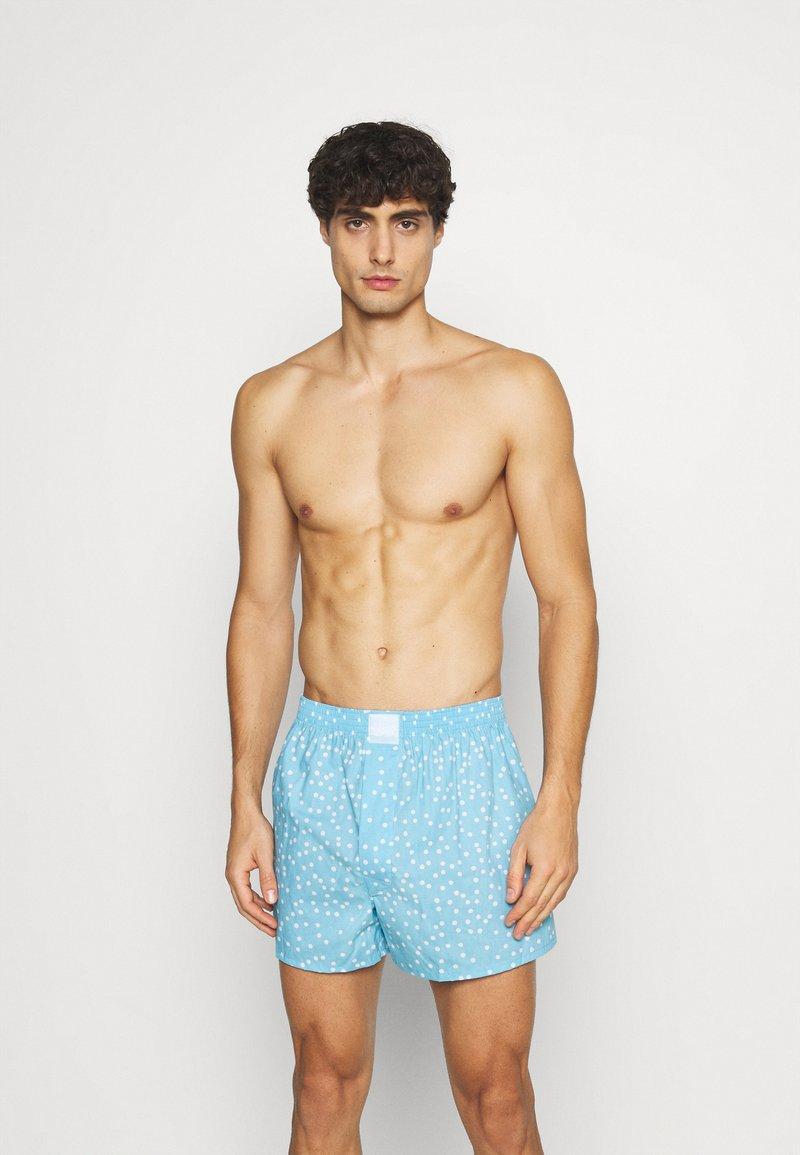 Lousy Livin Underwear - DOTS - Trenýrky - aqua marine
