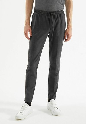 Trousers - gris anthracite