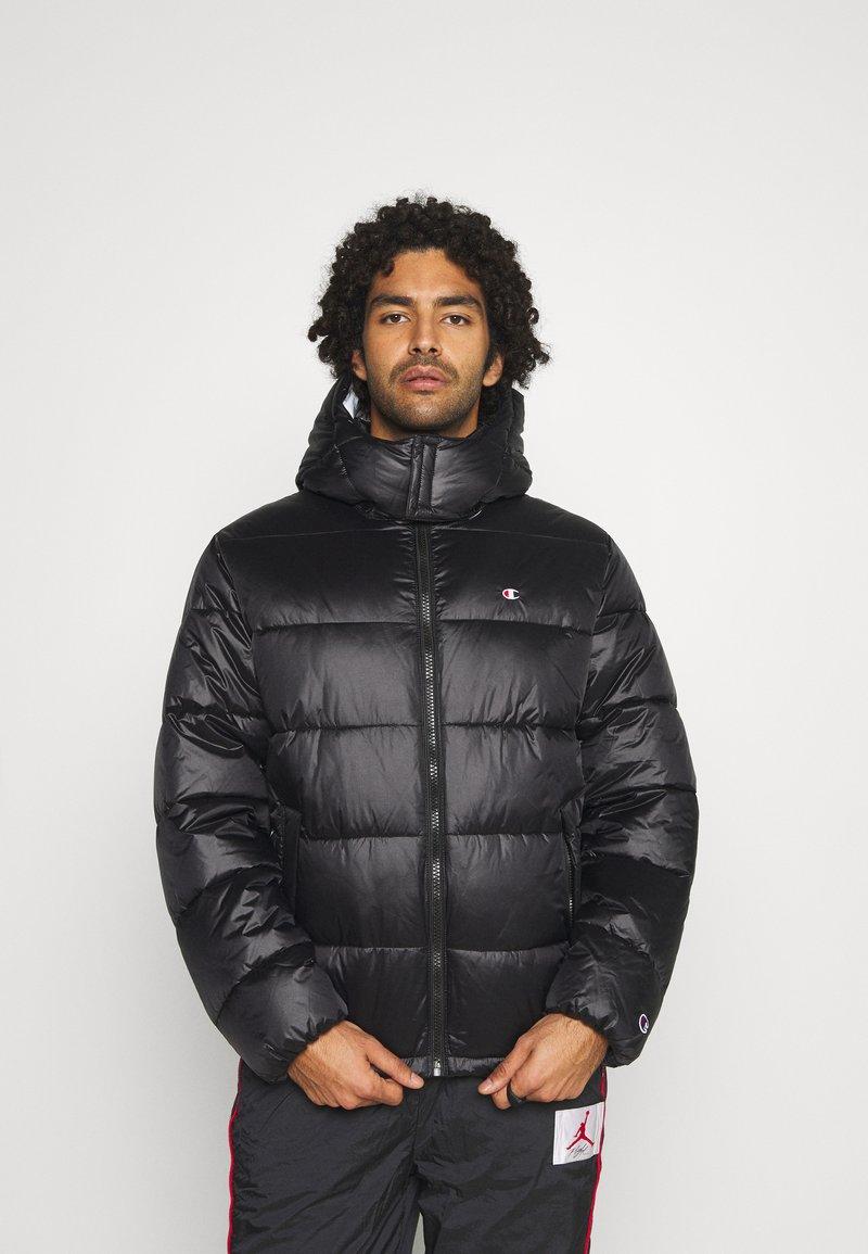 Champion Reverse Weave - HOODED JACKET - Winter jacket - black