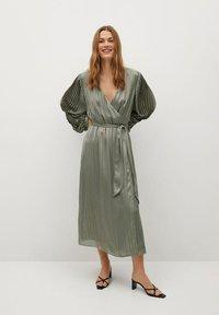 Mango - Cocktail dress / Party dress - olivengrün - 1