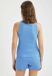 DeFacto - REGULAR FIT DEFACTO WOMAN TOP - Top - blue - 2