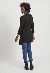 Vila - VINAJA NEW LONG JACKET - Giacca leggera - black