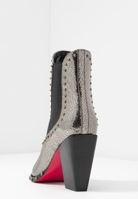 Pinko - ENDINE  - High heeled ankle boots - grey - 5