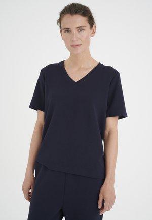 T-shirt basic - marine blue
