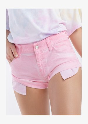 BARBIE – JEANS SHORTS - Szorty jeansowe - light pink