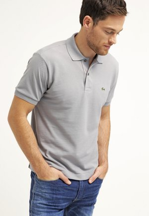 Polo shirt - platinum