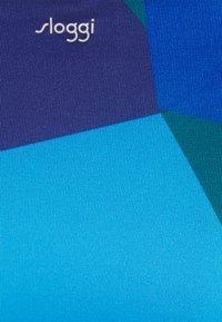 Sloggi - SLOGGI WOMEN SHORE KIRITIMATI MINI - Bikini bottoms - blue dark - 2