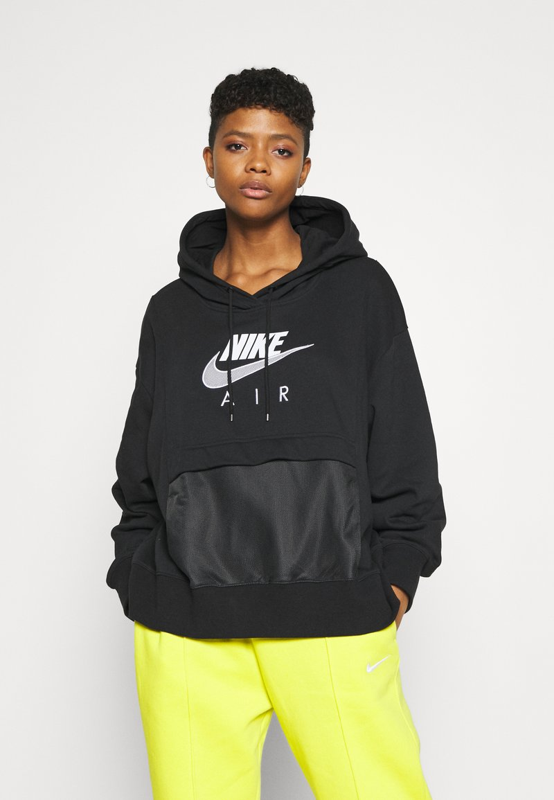 Nike Sportswear - AIR HOODIE - Mikina skapucí - black/white