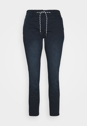 TAPERED RELAXED - Trousers - dark blue