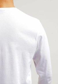 GANT - THE ORIGINAL - Top sdlouhým rukávem - white - 5