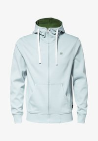 G-Star - 2-TONE HOODED ZIP THROUGH - Huvtröja med dragkedja - deep sky - 5